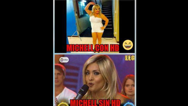 ¡Michelle Soifer no se salvó de los memes por su cambio de look!