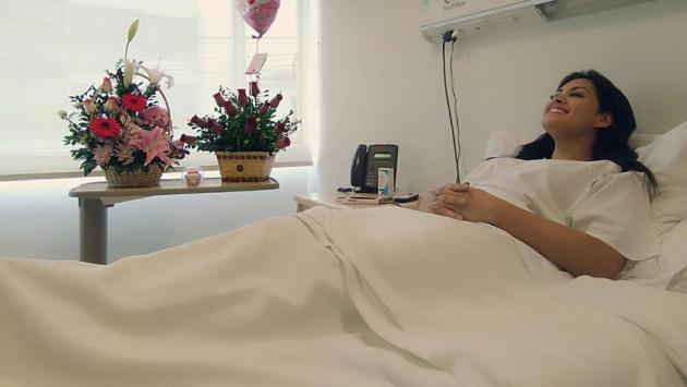 Publican primeras fotos de Michelle Soifer tras someterse a operación