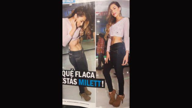 ¿Qué le pasó a Milett Figueroa? Fans preocupados por estas fotos