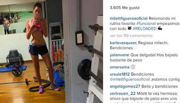 Milett Figueroa le dijo adiós a su alergia y ahora luce así [VIDEO]