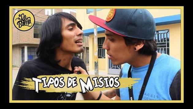 YouTube: De Barrio y Los Tipos de misios