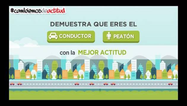 Nueva aplicación peruana te dice si eres buen peatón o conductor