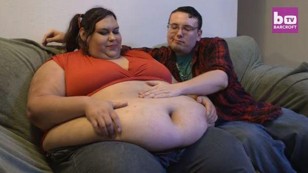 ¡Esta mujer quiere ser la más gorda del mundo y así se 'prepara'!