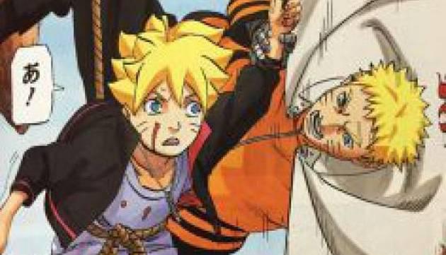 Se filtran fragmentos del final de Naruto