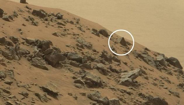 ¿Pirámide en Marte es fotografiada?
