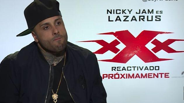 ¿Nicky Jam quiere ser actor? ¿Y qué dijo sobre Perú? [VIDEO]