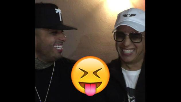 ¿De qué se ríen Nicky Jam y Daddy Yankee? Mira este video