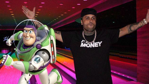 ¡Nicky Jam compartió foto del pasado en la que se compara con Buzz Lightyear!