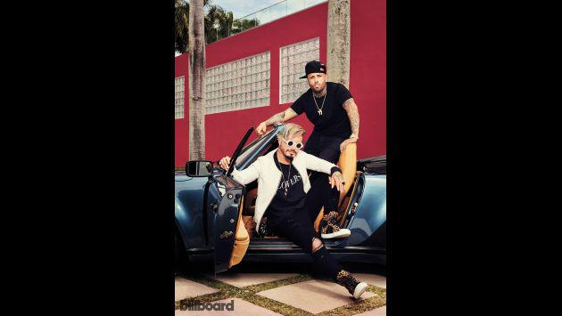 ¡Nicky Jam y J Balvin participaron en divertida entrevista para Billboard! [FOTOS Y VIDEO]