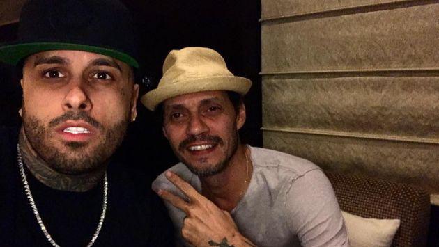 ¿Se viene canción de Nicky Jam y Marc Anthony? ¡Checa esta publicación!