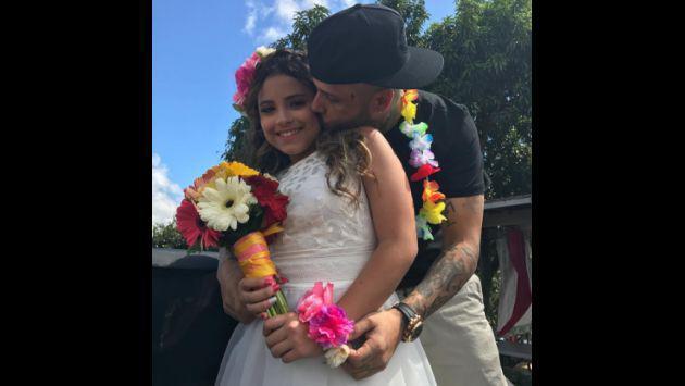 ¡Nicky Jam celebró a lo grande el quinceañero de su hija!