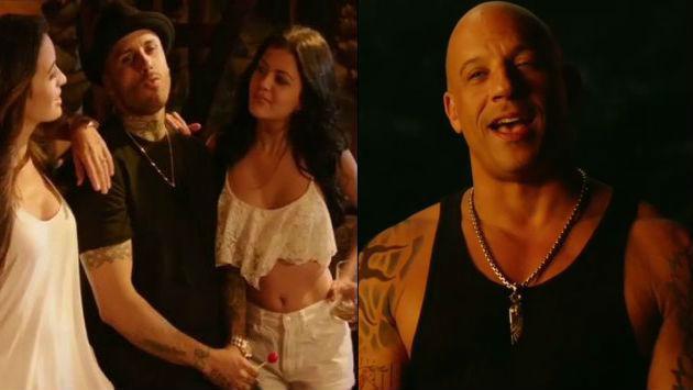¡Nicky Jam compartió video de su participación en película de Vin Diesel!