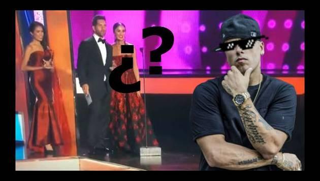 ¡Nicky Jam se desapareció en plena premiación de los Billboard!