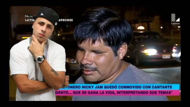Invidente peruano que imita a Nicky Jam quiere conocerlo