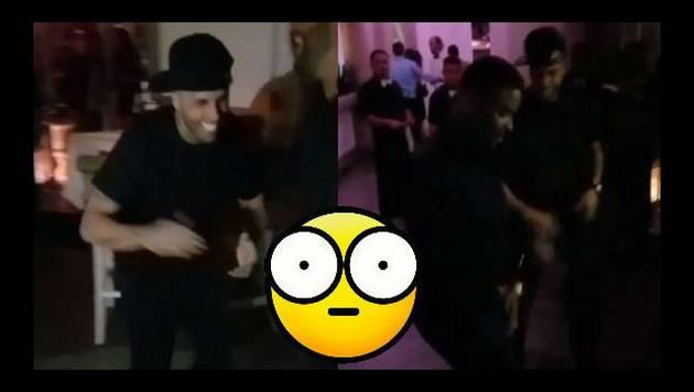 ¡Nicky Jam retó a Zion a duelo de baile! ¿Quién ganó?