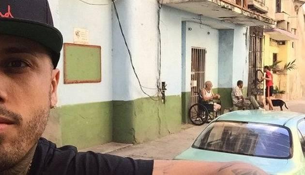 Antes de venir a Perú, Nicky Jam vacaciones en Cuba