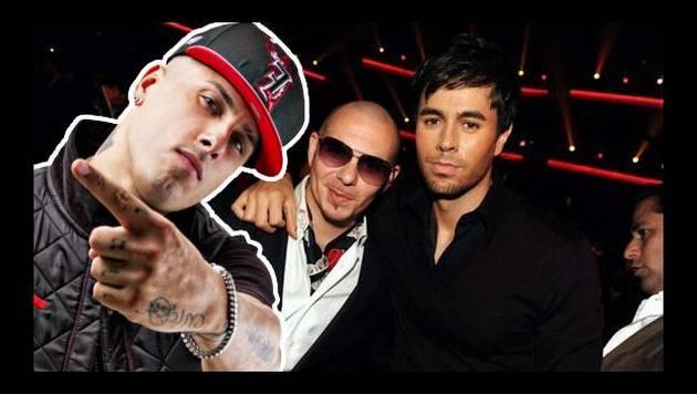 """Nicky Jam hace nueva versión de """"El perdón"""" con Pitbull"""