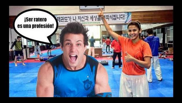 ¡Deportista peruana le da con palo a Nicola Porcella y 'Esto es Guerra' por...!