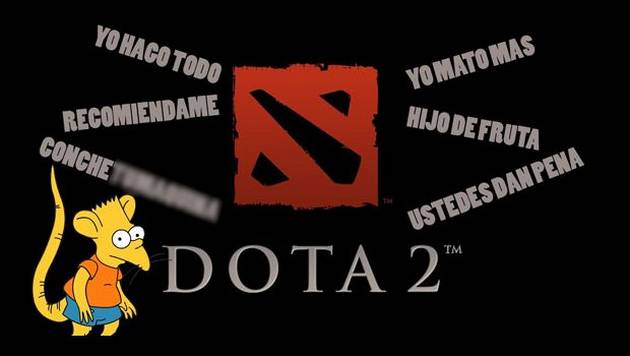 Dota 2: gracioso video de un típico niño rata