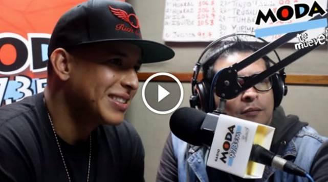 Revive los mejores momentos de la visita de Daddy Yankee a la cabina de Radio Moda