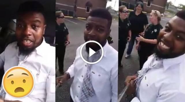 ¡Mira lo que hizo este hombre para evitar que le pongan una multa!