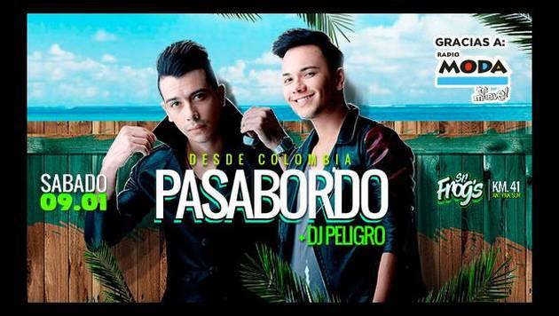 INAUGURACIÓN SR. FROGS (TEMPORADA DE VERANO) – Con PASABORDO Y DJ PELIGRO