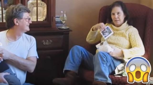 ¡No creerás cómo reaccionó esta mujer al enterarse de que será abuela!