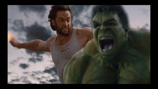¡Chequea la pelea entre Wolverine, Spiderman, Thor, Iron Man y Hulk!