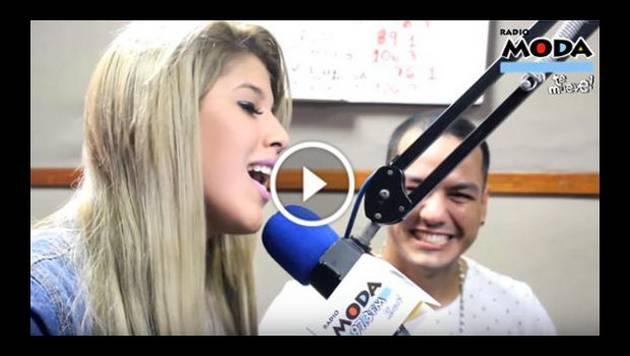 ¡Yahaira Plasencia cantó 'Déjala' en vivo!