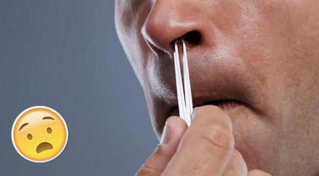 Si te arrancas los vellos de la nariz, podrías provocar tu muerte