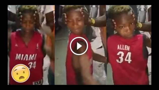 ¡Increíble! Niño gira su cuerpo sin mover la cabeza y video se vuelve viral