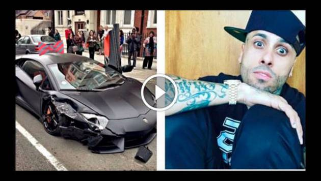 191 Nicky Jam Sufri 243 Accidente En Su Lamborghini Ent 233 Rate De La Verdad Noticias Radio Moda