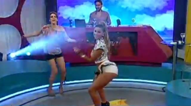 Retan a Yahaira Plasencia a un duelo de baile ¡Chequea cuál fue el resultado!