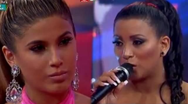 Yahaira Plasencia y Paula Arias tuvieron un polémico reencuentro