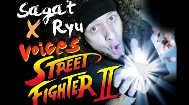 Imita los sonidos de 'Street Fighter' y se convierte en viral ¡Lo hace increíble!
