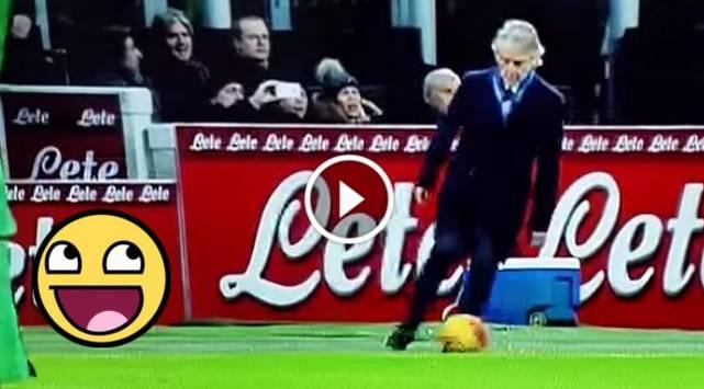 Técnico de fútbol quiso mostrar su talento y pasó el roche de su vida