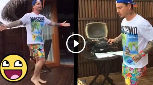 J Balvin demuestra que es un buen bailarín en este video