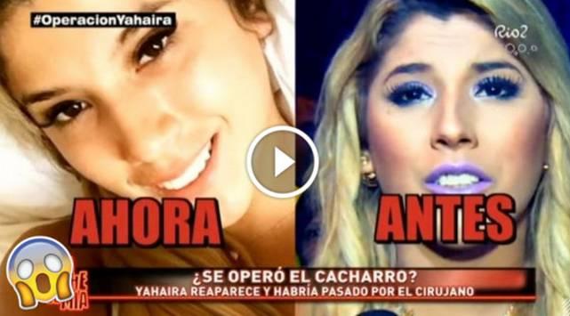 ¿Yahaira Plasencia se operó el rostro? ¡Chequea este video!