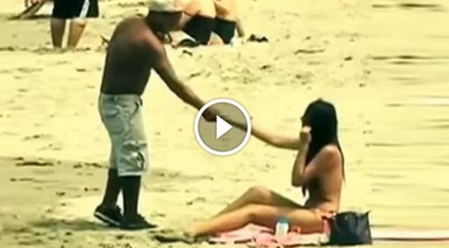 ¿Topless en la Costa Verde? ¡Mira como reaccionaron estas personas!