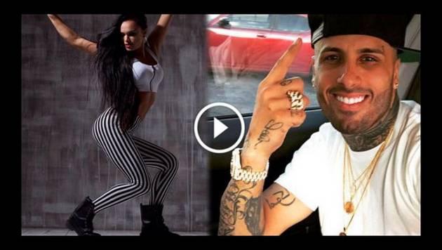 Nicky Jam compartió sexy baile de 'Hasta el amanecer'