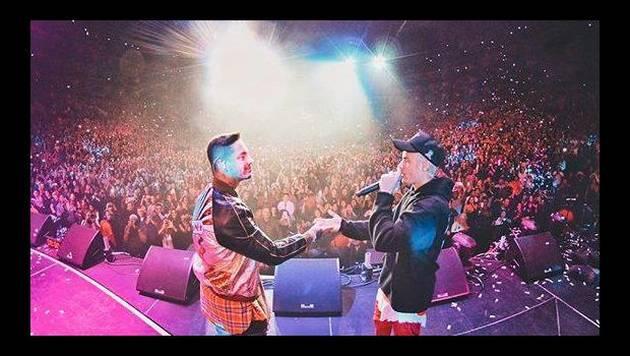 J Balvin y Justin Bieber interpretaron 'Sorry' por primera vez juntos en concierto