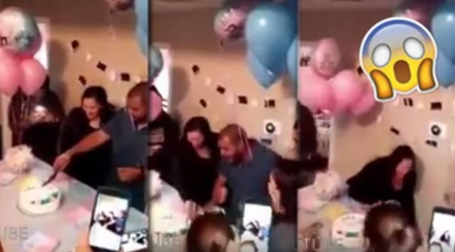 ¡Se enteró que iba a ser padre de un niño y reaccionó así!
