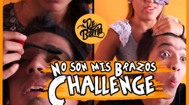 De Barrio y el reto del maquillaje