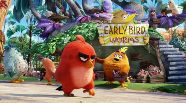 ¡Chequea el nuevo tráiler de 'Angry Birds'!