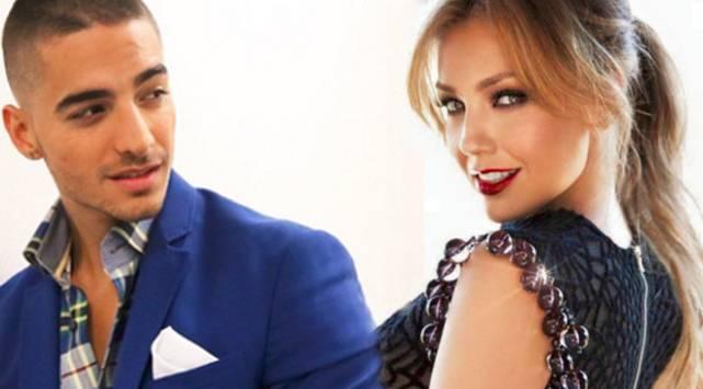 Maluma canta tema junto a Thalía: Escucha 'Desde esa noche'