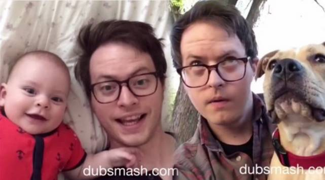 Papá y su bebe son la sensación de Dubsmash ¡Vacílate con este video!