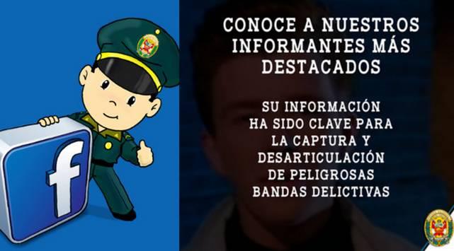 OMFG! Policía Nacional del Perú reveló sus fuentes ¿Serás uno de ellos?