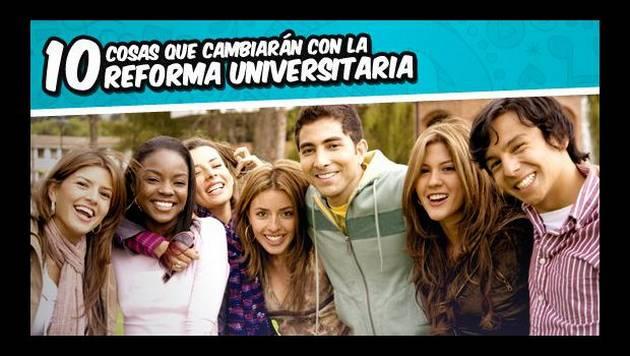 10 cosas que cambiarán con la Reforma Universitaria