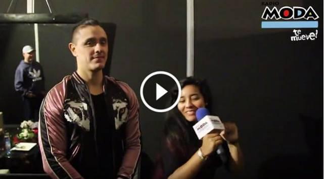 Marianita entrevistó a Joey Montana y bailó al ritmo de 'Picky'