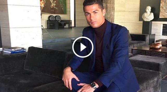 Cristiano Ronaldo te muestra su mansión en este video
